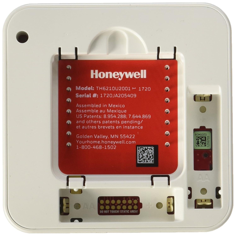Honeywell TH6210U2001 T6 Pro Programmable Thermostat (Pack of 2) - - Amazon.com