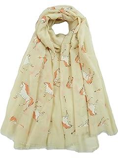 NEW Ladies Rhinoceros Screen Printed Scarf Wrap Shawl100/% Cotton5 Colours