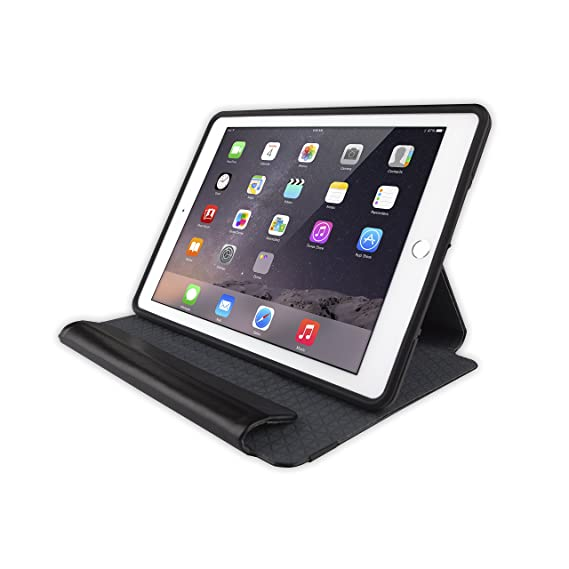 competitive price 445ff ee178 Otterbox SYMMETRY SERIES FOLIO Case for iPad Air 2 - Retail Packaging -  BLACK