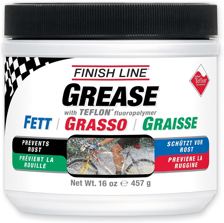 Finish Line Teflon Grease (Premium Synthetic) - Grasa para Bicicletas, Talla 457gr: Amazon.es: Deportes y aire libre