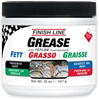 Finish Line Premium Grease made with Teflon Fluoropolymer, 1 pound
