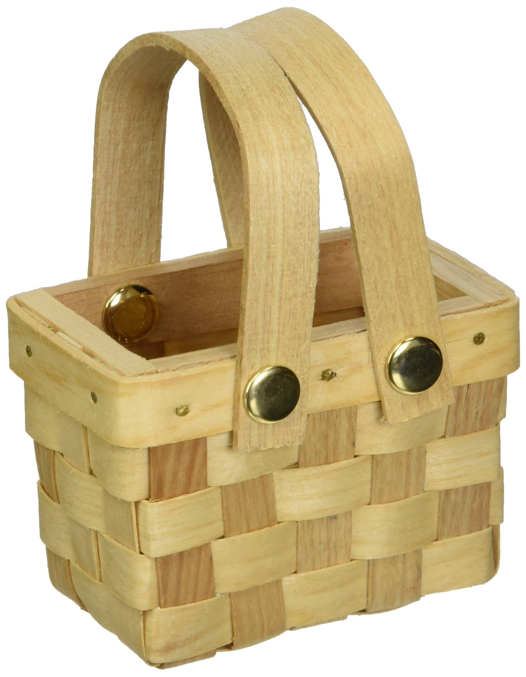Weddingstar 9155 Mini Woven Picnic Baskets -6 by Weddingstar Inc.