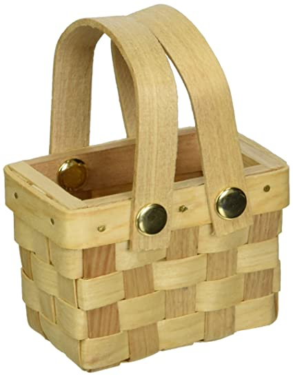 Weddingstar 9155 Mini Woven Picnic Baskets -6