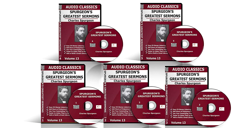 Spurgeon's Greatest Sermons Cd Uncut Audio Cd Set - Spurgeon At His Best  CD, Value Price, Box set, Original recording, Digital Sound