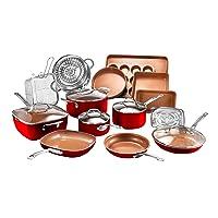 20-Piece Gotham Steel Cookware + Bakeware Set