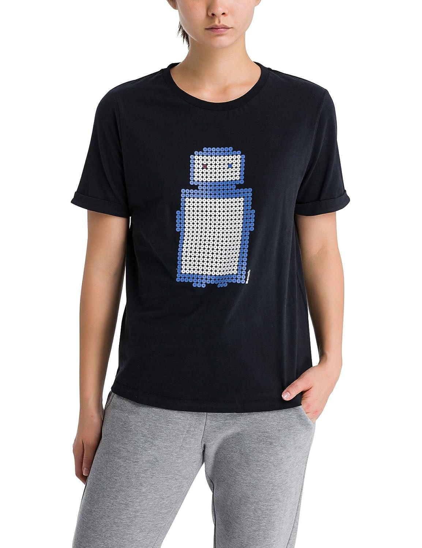 Bench Pixelman Print tee Camiseta para Mujer