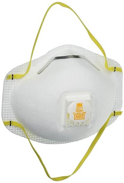 - White Respirator Cool N95 8511 uk 70070757557 Amazon 3m Flow co
