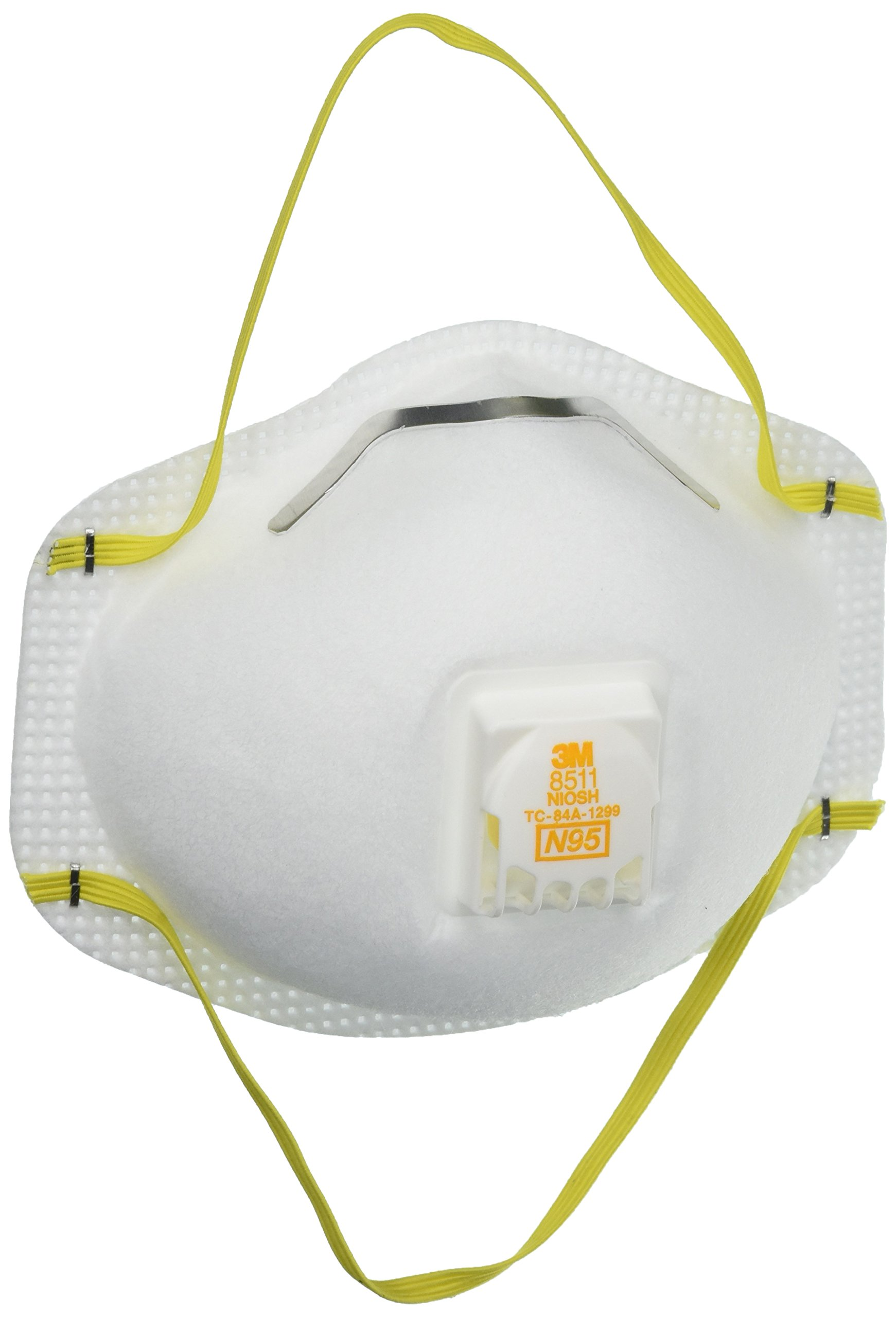 3M Particulate Respirator 8511 N95 with 3M Cool Flow™ Exhalation Valve by 3M