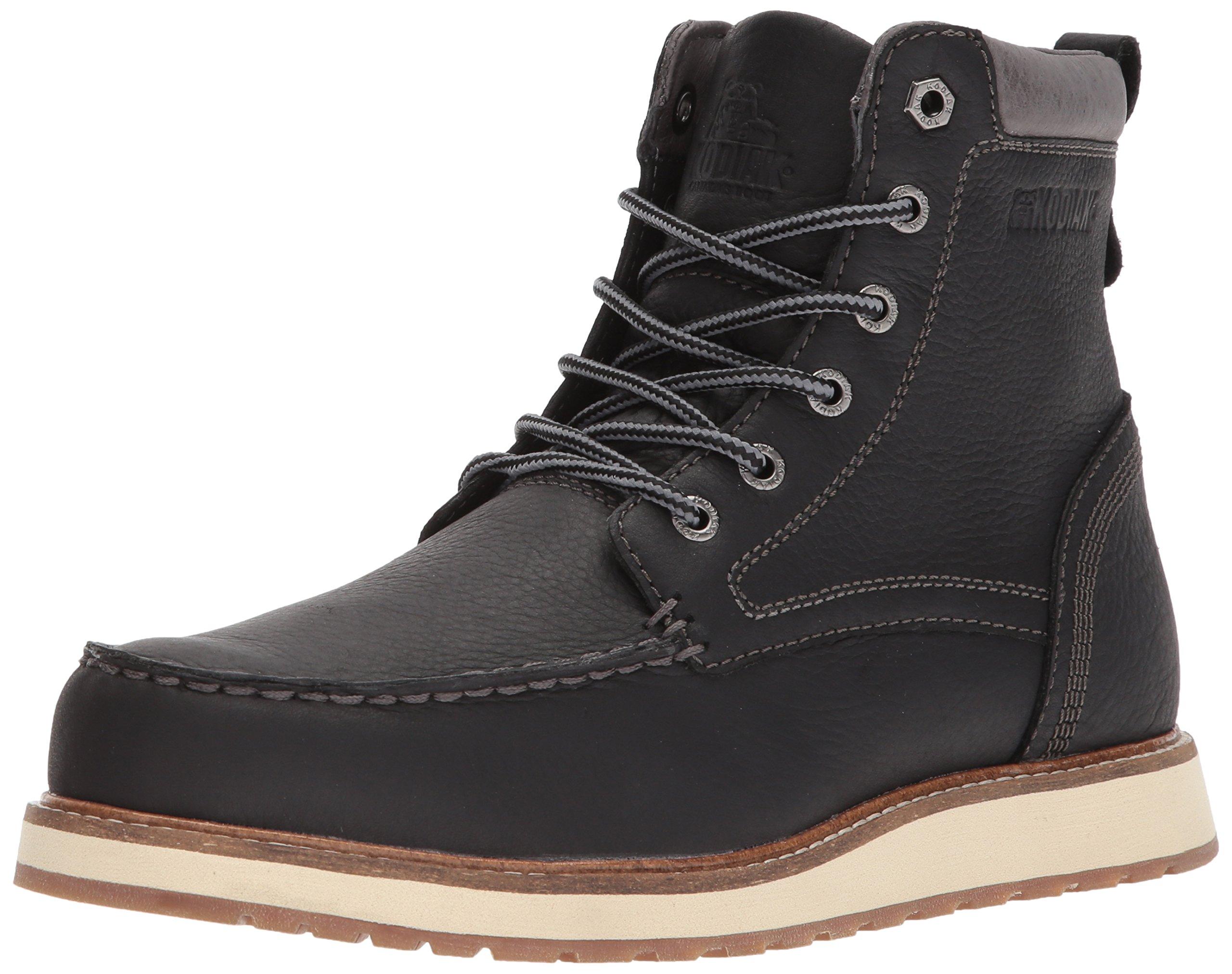 Kodiak Men's Zane Chukka Boot, Black, 12 M US