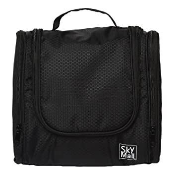 78ea3d1c27bd2 SkyMall Toiletry Bag For Men & Women - Hanging Toiletries Kit For Makeup,  Cosmetic,