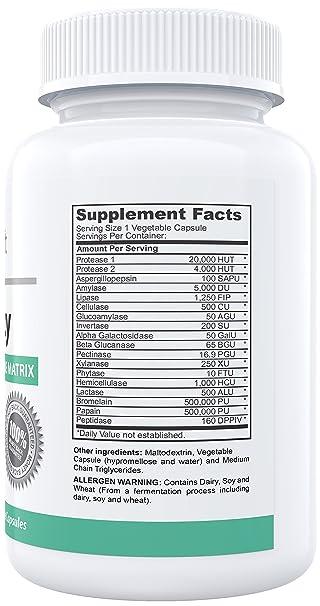 Amazon.com: # 1 Digestivo Enzimas Suplemento – mejor fórmula ...
