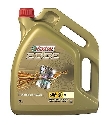 Castrol EDGE 5W-30 M Aceite de motor, 5 L: Amazon.es: Coche y moto