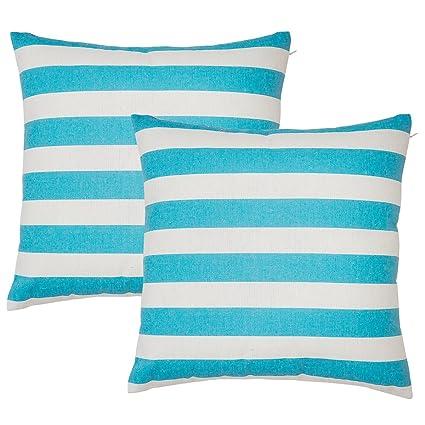 Avanzza, 2 fodere per cuscino, 40 x 40 cm, di colore