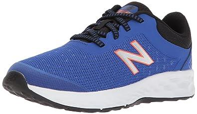 d88231bac3359 New Balance Boys' Kaymin v1 Running Shoe, Pacific/Black, 1 M US
