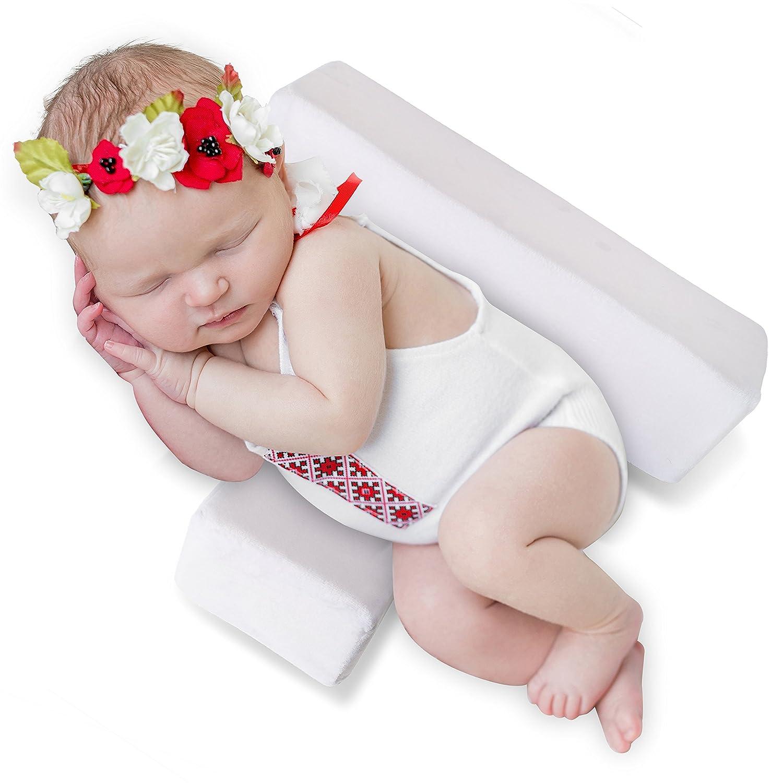 Baby Sleep Pillow Newborn Side Support No More Sleepless Nights Golden-Fish