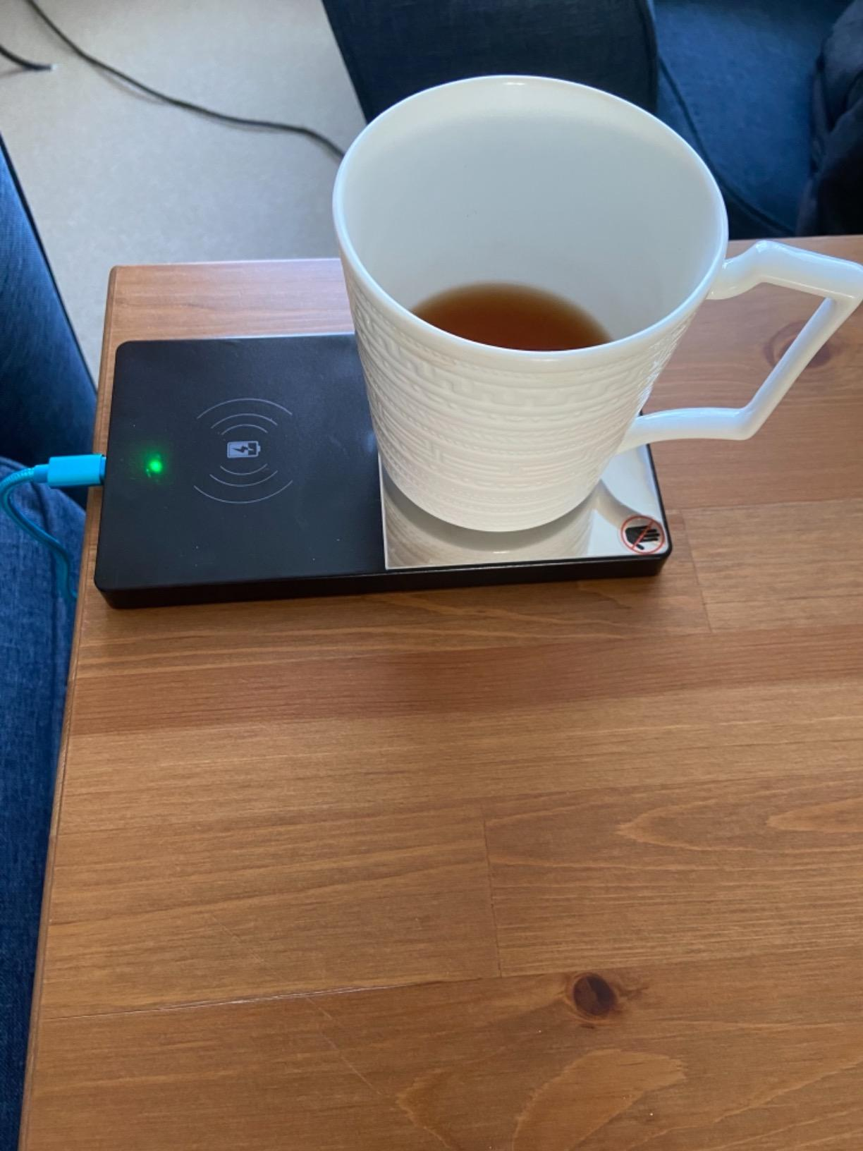 Phone Wireless Charger and Cup Warmer photo review