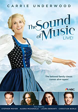 Amazon Com The Sound Of Music Live Carrie Underwood Stephen