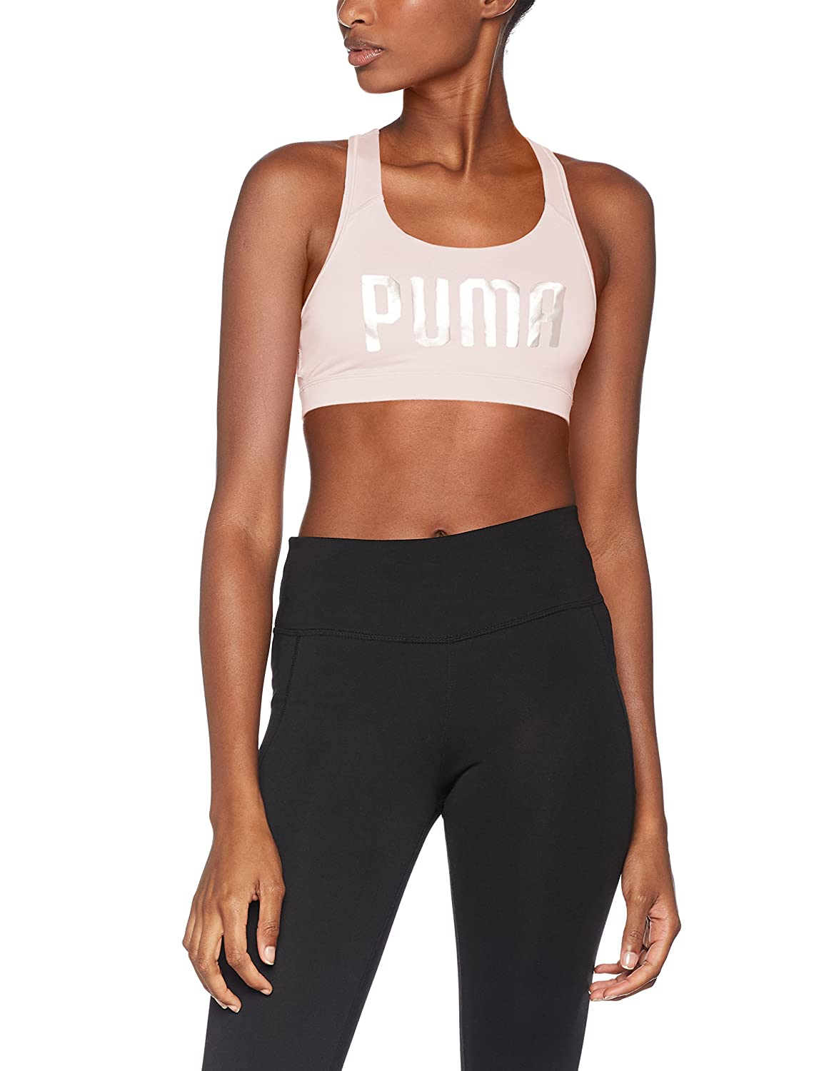 Puma Women's Pwr Shape Forever-Logo Crop Top 515991 22