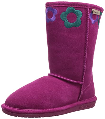 BEARPAW JESSIE YOUTH Boot, PomBerry/Teal/Violet, 13 M US Little Kid