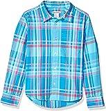 Amazon Essentials Boys' Long-Sleeve Poplin/Chambray Shirt