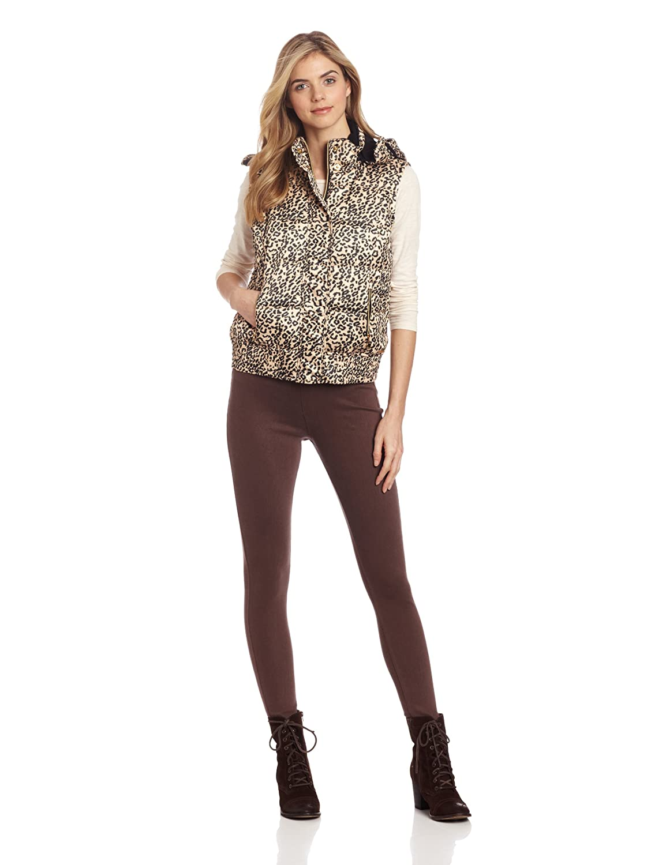 49f1b10026dc85 Amazon.com  Calvin Klein Performance Women s Hooded Print Puffer Vest