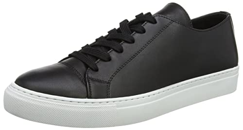 Wood Wood Shoes Men's Alex Shoe Trainers, Black (Black), 6 UK 39