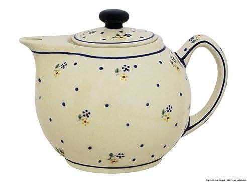 Moderne Teekanne amazon de original bunzlauer moderne teekanne 1 0 liter im dekor 111