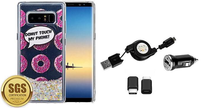 Waterfall - Funda con Tapa para Samsung Galaxy Note 8 ...