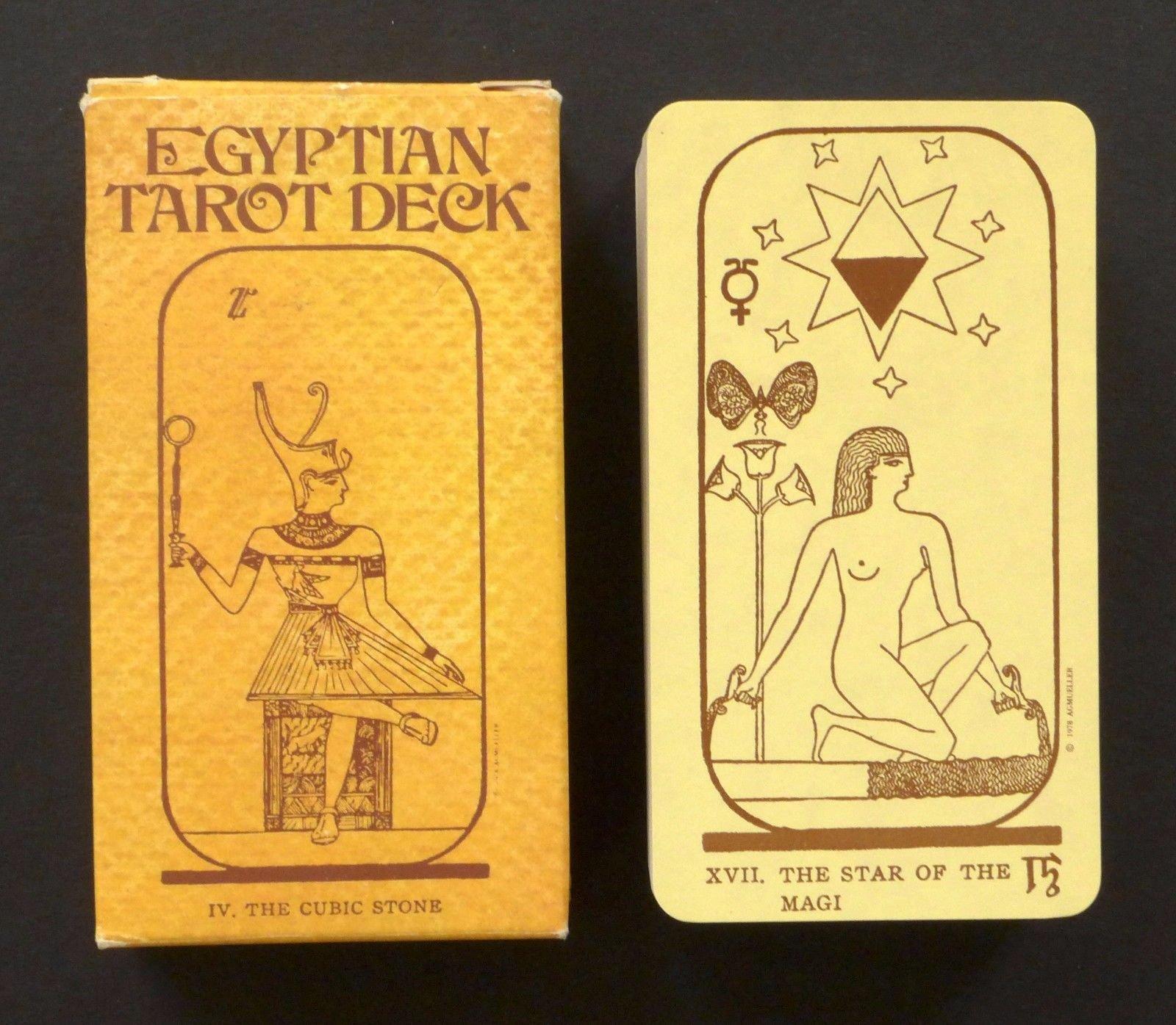 Egyptian Tarot Deck, A G Muller: Amazon co uk: US Games, Comte C  de