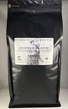 Currency Coffee Company Justice Blend (whole bean) (5-lb)