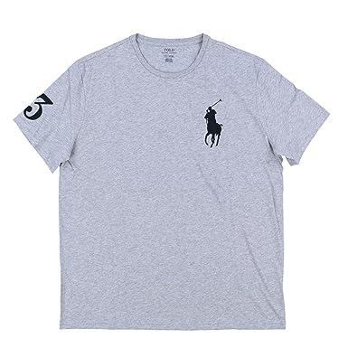 the latest c559b a83fb Polo Ralph Lauren Mens Crew Neck Big Pony T-Shirt