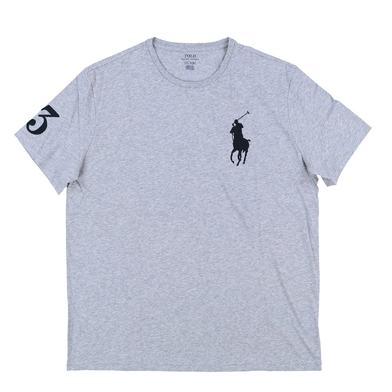 the latest 5a8d9 2e156 Polo Ralph Lauren Mens Crew Neck Big Pony T-Shirt