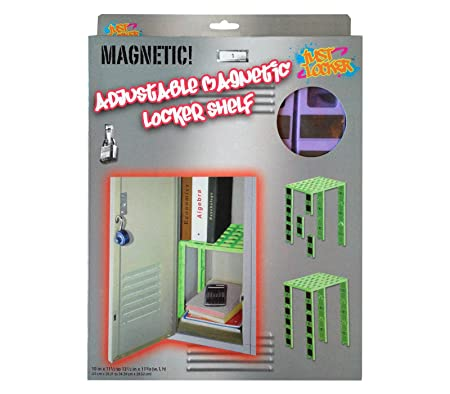 Adjustable Magnetic Locker Shelf Fits Lockers 12 To 15 Inch