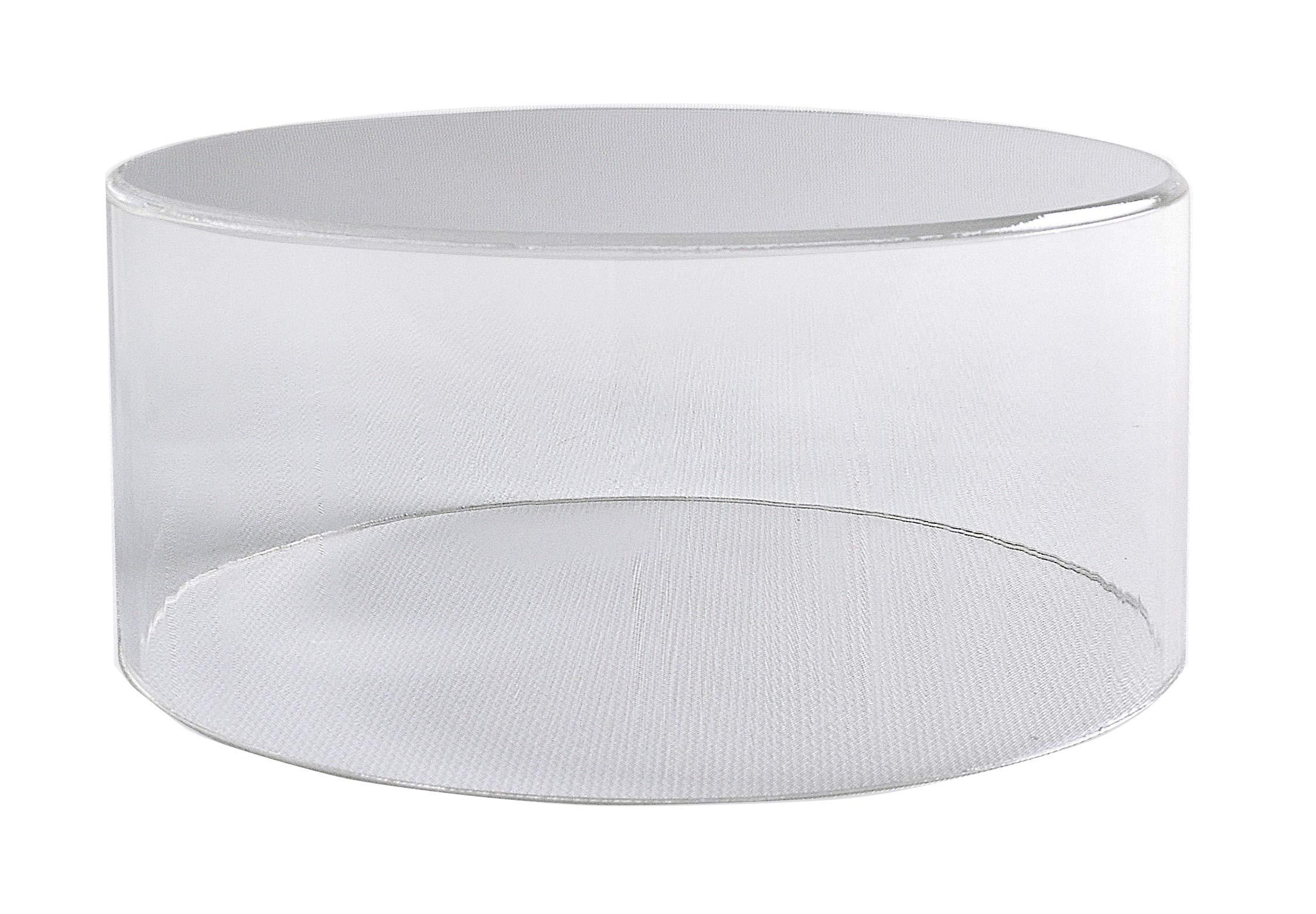 Round Acrylic Risers 6'' H x 10'' Diameter | Round Stand | Pedestal | Acrylic Bin | Cupcake Stand | Cake Display | Buffet Display by CHOICE ACRYLIC DISPLAYS