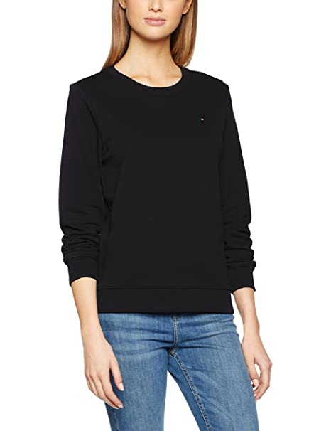 Tommy Hilfiger Flag Sweatshirt Sudadera para Mujer: Amazon.es: Ropa y accesorios