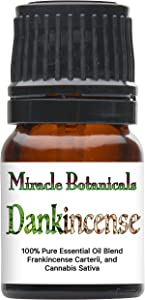 Miracle Botanicals Dankincense Essential Oil Blend- 100% Pure Therapeutic Grade - 2.5ml