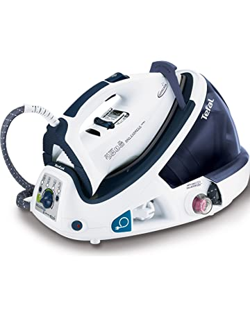 Tefal GV7466 Express Anti-Scale High Pressure Steam Generator, 2200 W, 6.5 Bar, Blue/White