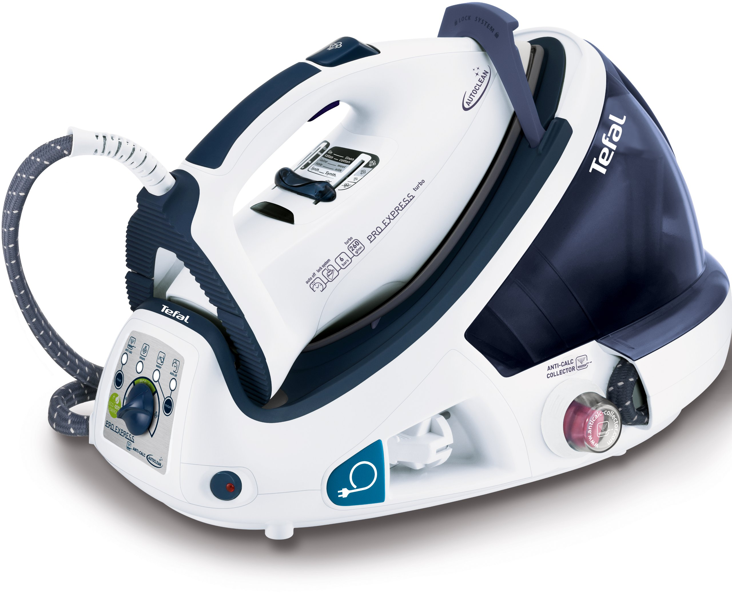 Tefal Gv8461 Pro Express Autoclean High Pressure Steam Generator White