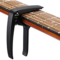 Deals on Asmuse Guitar Capo Trigger with 3pcs Guitar Picks