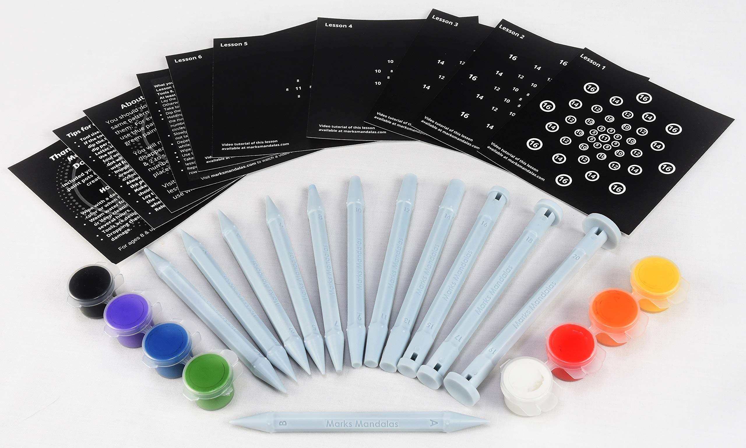 Marks Mandalas Dotting Tools Kit