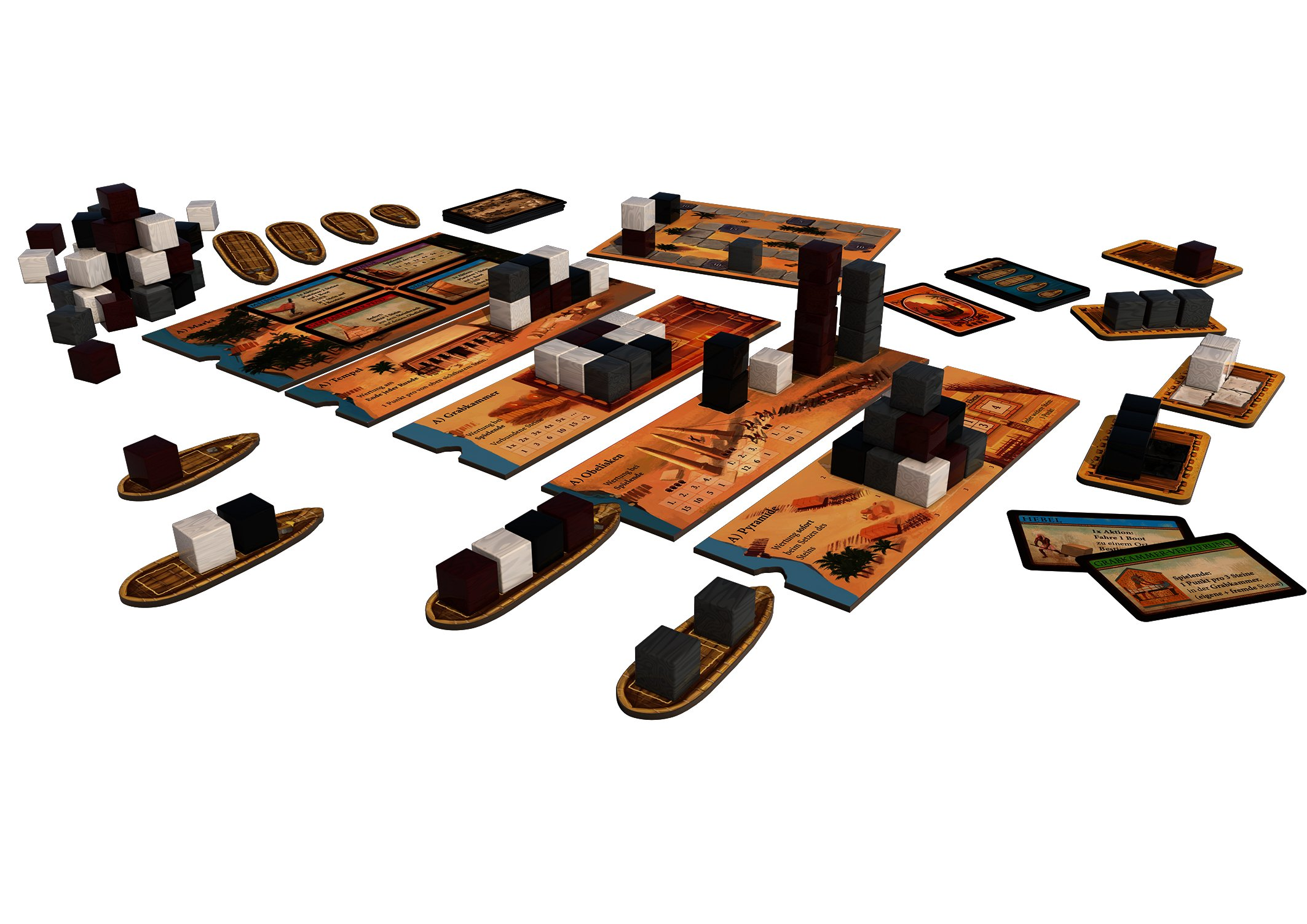 Spiele Thames && Kosmos Imhotep Builder of Egypt Board Game