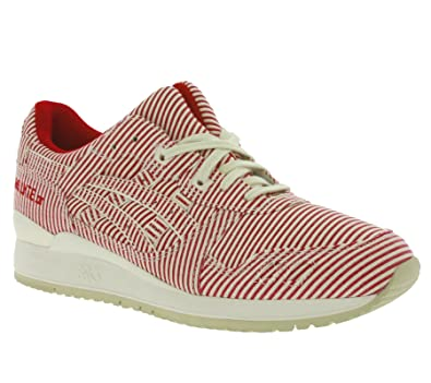 c2b12d1e88e171 asics Gel-Lyte III Schuhe Herren Sneaker Turnschuhe Rot H626N 2323 ...
