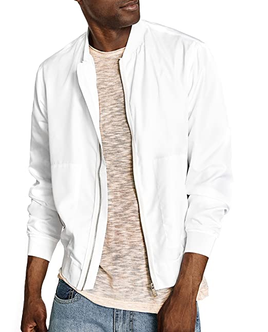 5c61afb5 Zara Men White lightweight jacket 2753/358 (X-Large): Amazon.ca ...
