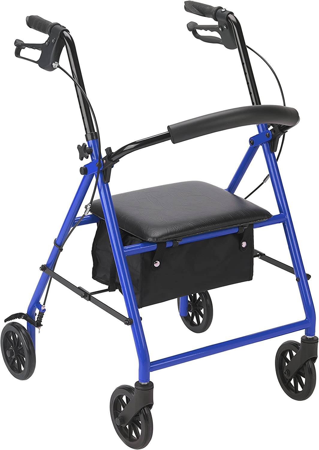 Drive Medical Rollator with Wheels, Blue 81oYp5PlbuL