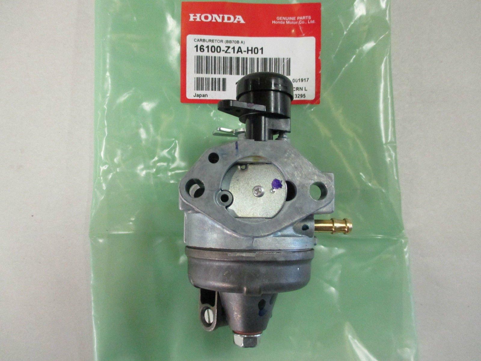 Honda 16100-Z1A-H01 Snow Blower Carburetor (BB70B A) by Honda