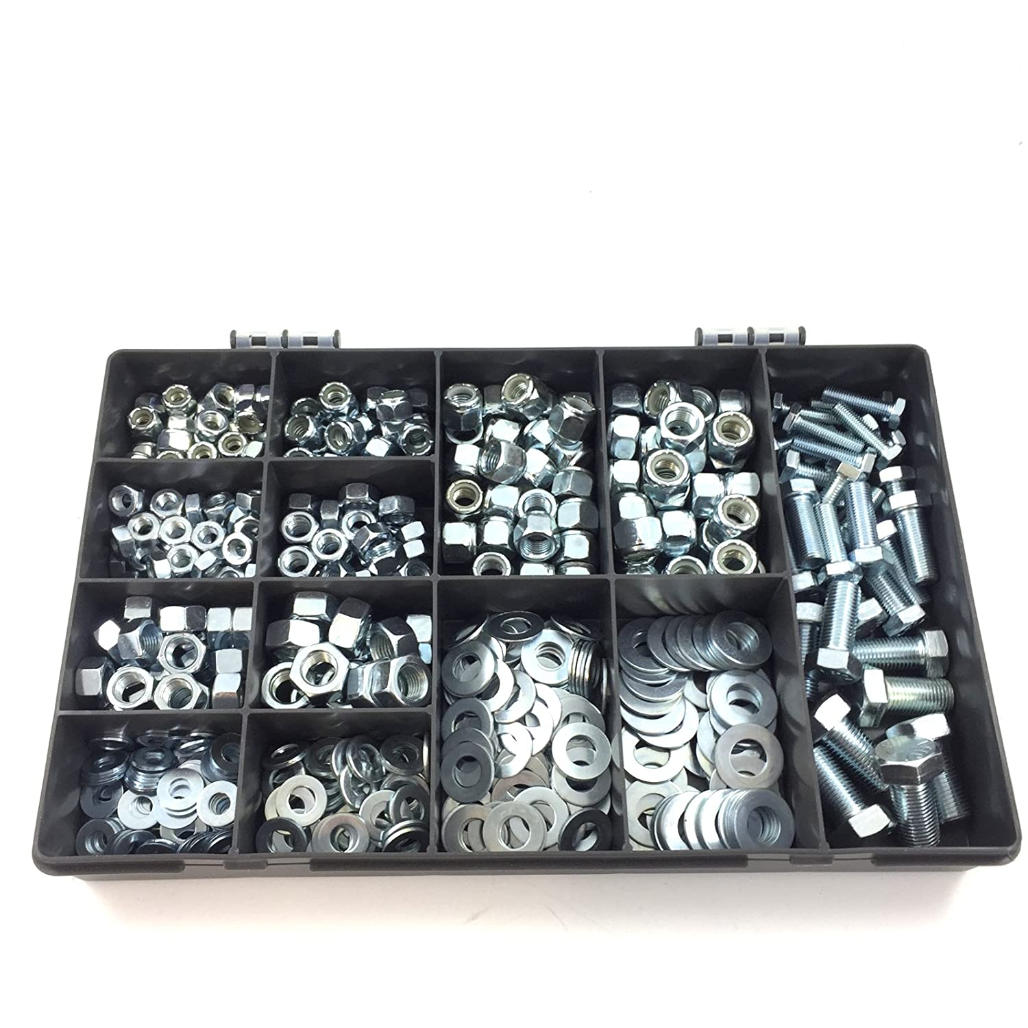 """NYLOCS UNF THREAD IMPERIAL BOLTS 1//2/"""" x 3 1//2/"""" WASHERS QTY 5 SETS"""