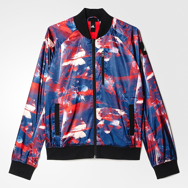 adidas Damen Bomberjacke Flower Jacket, Rayred