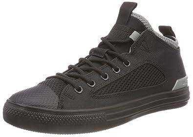 Converse Unisex-Erwachsene CTAS Ultra Ox Black/Mason Hohe Sneaker