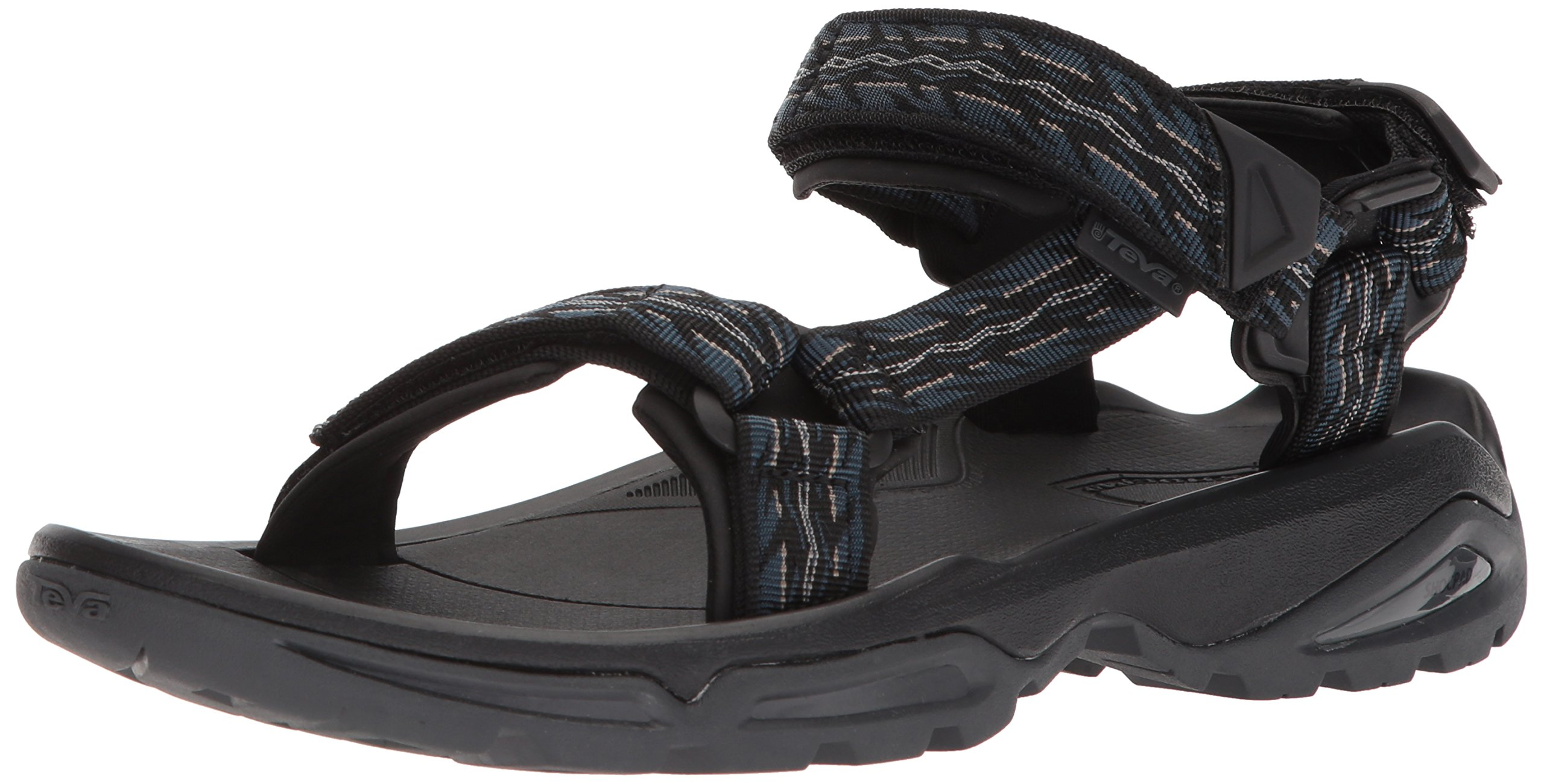 Teva Men's M Terra FI 4 Sport Sandal, Firetread Midnight, 10 M US by Teva