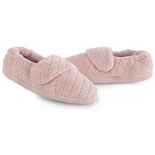 Acorn Women's Spa Wrap Slippers & Oxy Cleaner Bundle